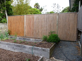 after treatment of 3 year old fence