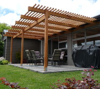 structures - shelter your outdoor spacewith a pergola